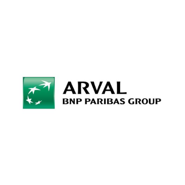 ARVAL BNP PARIBAS GROUP logo